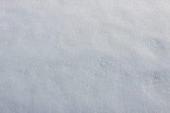 Ciérrese para arriba de la nieve blanca Fotografía de archivo libre de regalías