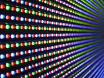 Luces llevadas Imagen de archivo libre de regalías