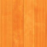Ciérrese para arriba de la pared brillante de madera de pino Imagen de archivo libre de regalías