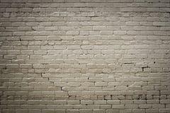 Ciérrese para arriba de la pared de ladrillo Foto de archivo libre de regalías