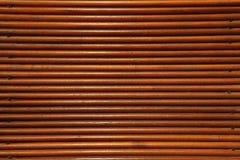 Ciérrese para arriba de la pared de madera Foto de archivo libre de regalías