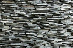 Ciérrese para arriba de la pared de piedra de la naturaleza Fotografía de archivo libre de regalías