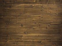Ciérrese para arriba de la pared hecha de tablones de madera Foto de archivo libre de regalías