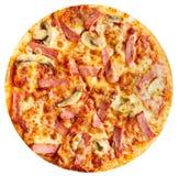 Ciérrese para arriba de la pizza de queso Foto de archivo libre de regalías