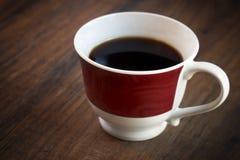 Ciérrese para arriba de la taza de café fotos de archivo