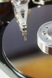 Ciérrese para arriba de la unidad de disco duro Imagen de archivo libre de regalías