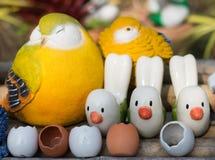 Ciérrese para arriba de las muñecas del pájaro para la decoración Fotografía de archivo libre de regalías