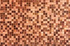 Ciérrese para arriba de los azulejos de mosaico para el fondo Fotos de archivo libres de regalías