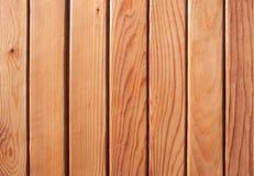 Ciérrese para arriba de los tablones de madera Fotografía de archivo libre de regalías