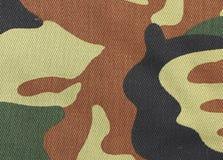 Ciérrese para arriba de modelo del camuflaje. Imagen de archivo libre de regalías