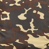 Ciérrese para arriba de modelo del camuflaje. Foto de archivo libre de regalías