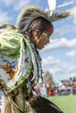 Ciérrese para arriba de muchacho del nativo americano Fotos de archivo libres de regalías