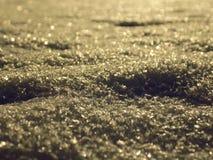 Ciérrese para arriba de nieve Imagenes de archivo