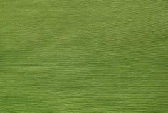 Ciérrese para arriba de Olive Cotton Textile Texture verde Imagen de archivo