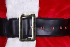 Ciérrese para arriba de Papá Noel imagen de archivo