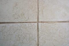Ciérrese para arriba de piso del cuarto de baño Foto de archivo libre de regalías