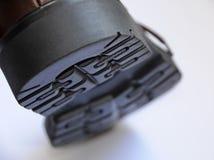 Ciérrese para arriba de planta del pie del zapato Imagen de archivo libre de regalías