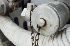 Ciérrese para arriba de punto del abastecimiento de agua Fotografía de archivo