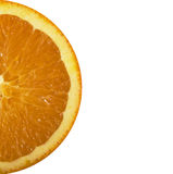 Ciérrese para arriba de rebanada anaranjada colorida fotografía de archivo libre de regalías