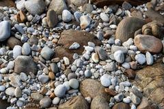 Ciérrese para arriba de rocas Fotos de archivo