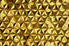 Ciérrese para arriba de textura amarilla del espejo Fotos de archivo libres de regalías