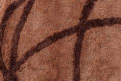 Ciérrese para arriba de textura de la alfombra Fotografía de archivo libre de regalías