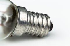 Ciérrese para arriba de un detalle de una luz del halógeno Imágenes de archivo libres de regalías