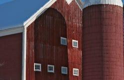Ciérrese para arriba de un granero con un cylo Fotografía de archivo libre de regalías