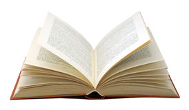 Ciérrese para arriba de un libro de textos Imagen de archivo libre de regalías