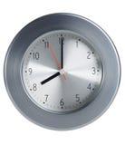 Ciérrese para arriba de un reloj del estilo del metal imagen de archivo libre de regalías