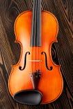 Ciérrese para arriba de un violín Fotografía de archivo