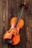 Ciérrese para arriba de un violín Foto de archivo libre de regalías