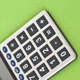 Ciérrese para arriba de una calculadora Fotos de archivo