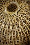 Ciérrese para arriba de una cesta de mimbre vieja Fotos de archivo libres de regalías