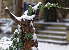 Ciérrese para arriba de una estatua del hierro de Jesús Imagen de archivo libre de regalías