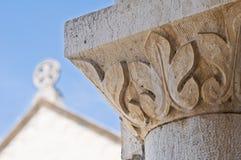 Ciérrese para arriba de una iglesia. Fotos de archivo libres de regalías