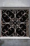 Ciérrese para arriba de una rejilla adornada, cementerio Edimburgo, Scotl de Greyfriars imagen de archivo