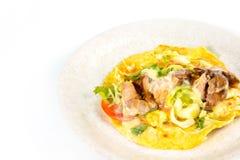 Ciérrese para arriba del bocadillo del kebab Fotografía de archivo libre de regalías
