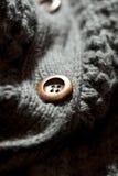 Ciérrese para arriba del botón Fotografía de archivo libre de regalías
