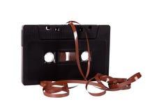 Ciérrese para arriba del casete de cinta de audio del vintage imágenes de archivo libres de regalías