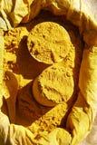 Ciérrese para arriba del curry Foto de archivo libre de regalías