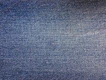 Ciérrese para arriba del dril de algodón azul de la mezclilla inconsútil para la textura y el fondo Imagen de archivo libre de regalías