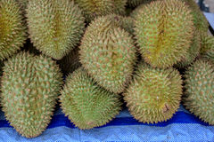 Ciérrese para arriba del durian Fotos de archivo