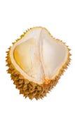 Ciérrese para arriba del durian pelado aislado Fotos de archivo libres de regalías