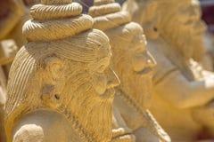 Ciérrese para arriba del indio Starue de la deidad Imagenes de archivo