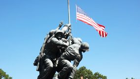 Ciérrese para arriba del monumento de Iwo Jima