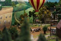 Ciérrese para arriba del mundo miniatura imagen de archivo