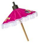 Paraguas rosado hecho a mano Imagenes de archivo