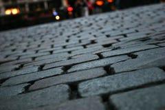 Ciérrese para arriba del pavimento Imagen de archivo