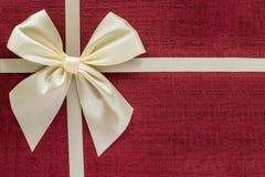 Ciérrese para arriba del rectángulo de regalo Fotos de archivo